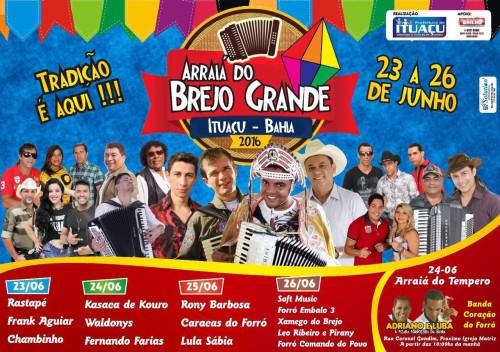 Arraiá do Brejo Grande em Ituaçu; tudo para a maior festa junina da Chapada