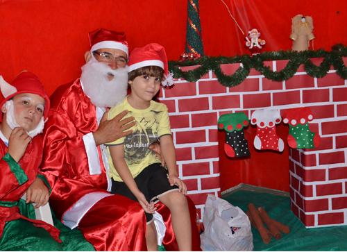 Natal Reciclável foi realizado na Praça da Prefeitura