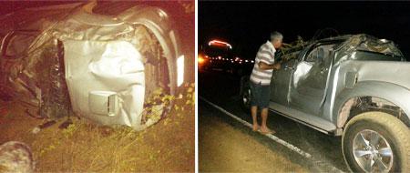 Empresário Barrestivense capota veículo em rodovia próximo a Jequié