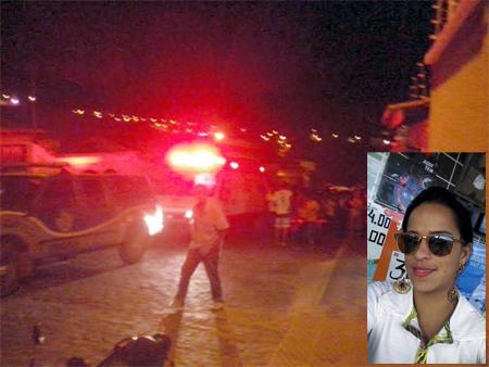 Mulher é assassinada na porta da casa no Bairro Baraúna em Caetité