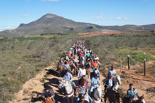 Cavalgada Dos Amigos 'A Top da Chapada' Bateu recorde de participantes; confira as fotos