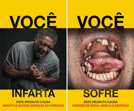 Anvisa divulga novas imagens de advertência para embalagens de cigarro