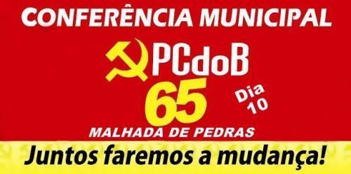 PCdoB realizará Conferência Municipal em Malhada de Pedras