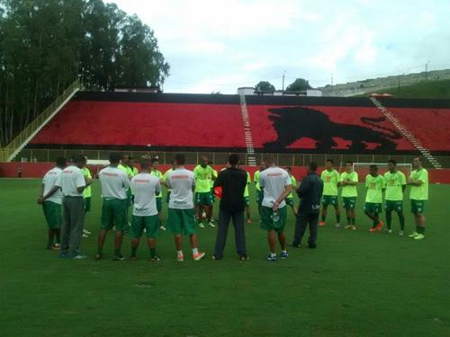 Time do Conquista treina no Barradão para a grande final contra o Bahia