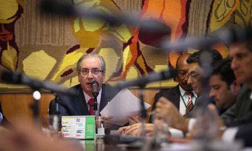 Oposição se afasta de Cunha em processo no Conselho de Ética