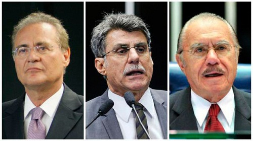 Janot pede prisão de Renan Calheiros, Sarney e Jucá por tentar barrar a Lava Jato