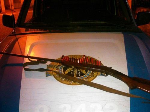 Polícia Militar apreende arma de fogo no distrito de Ibitira