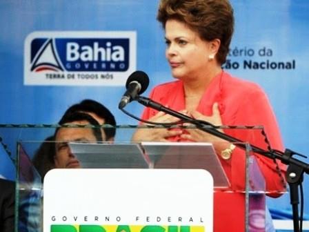 Basf inaugura complexo acrílico na BA com a presença de Dilma