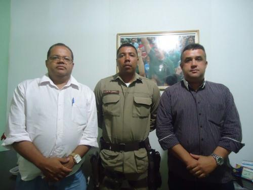 Prefeito Dinho realiza reunião com Chefes da Segurança Pública do município