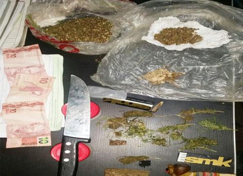 IBICOARA: Homem é detido por Tráfico de Drogas