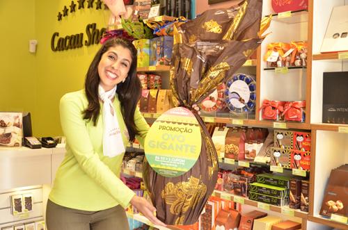 Compre Ovos de Páscoa na Cacau Show e concorra a 1 Milhão