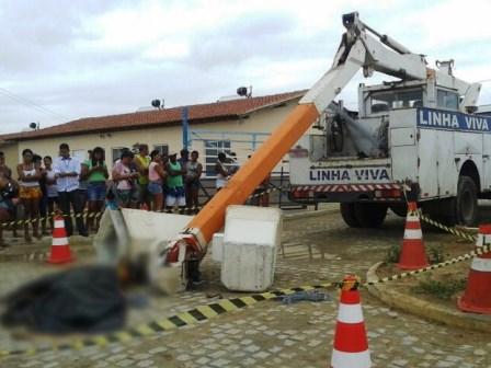 Tucano: Dois operários morrem após acidente em obra do Minha Casa Minha vida