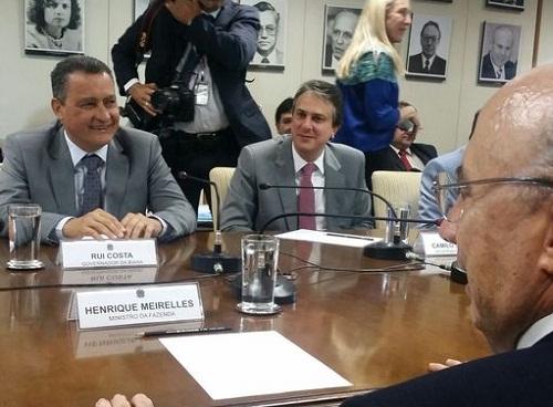 Em Brasília, governador pede equilíbrio no tratamento dos estados