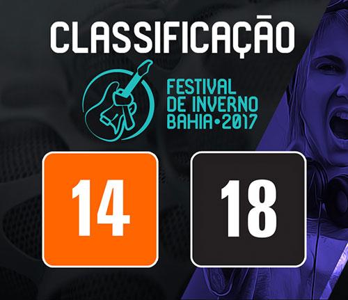 Justiça autoriza alteração na classificação do Festival de Inverno Bahia
