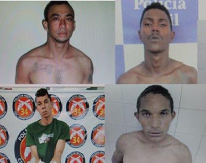 Foragidos da carceragem da 20ª Coorpin tem imagens divulgadas pela policia