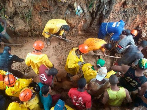 Subiu para onze o número de vítimas fatais após desabamentos que aconteceram nesta segunda-feira (27), em Salvador