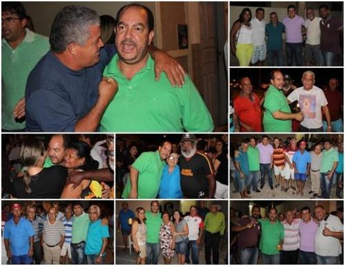 Em Ituaçu Albercinho anuncia que vai concorrer à reeleição