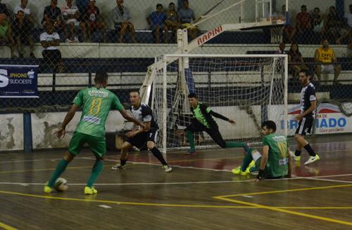 Brumado: Novo Brumado vence o Ginásio Industrial no primeiro jogo da final do Brumadense de Futsal