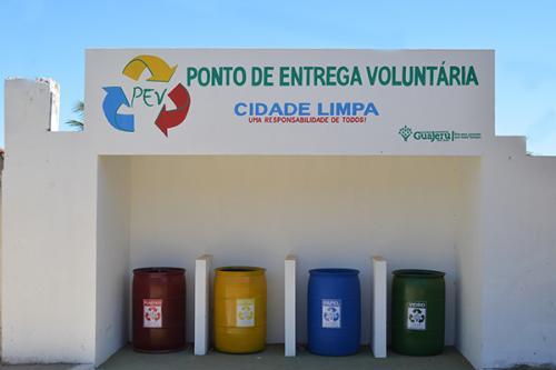 Governo ativa Ponto de Entrega Voluntária em Guajeru