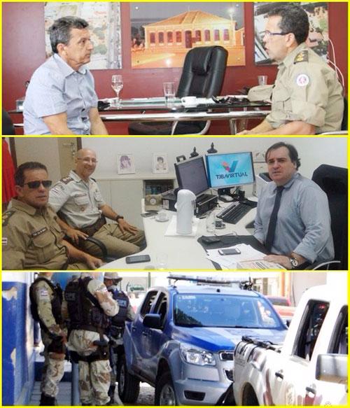 POLICIA MONTA MEGA OPERAÇÃO DE REPRESSÃO AO CRIME EM GUANAMBI