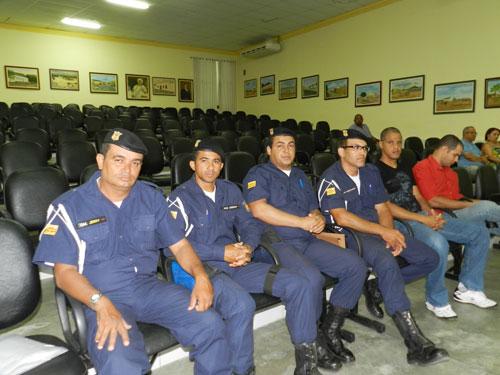 Guardas municipais realizarão a Marcha Azul Marinho no dia 30 de janeiro