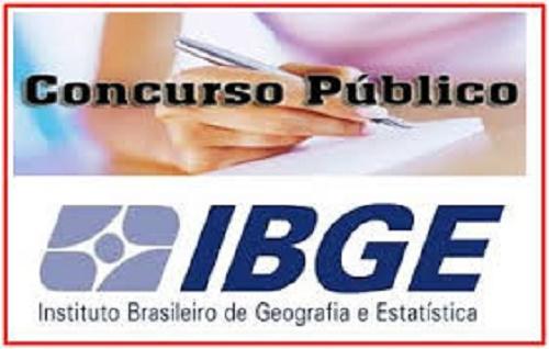 IBGE ABRE CONCURSO PÚBLICO PARA 600 VAGAS; ORGANIZADORA É FGV