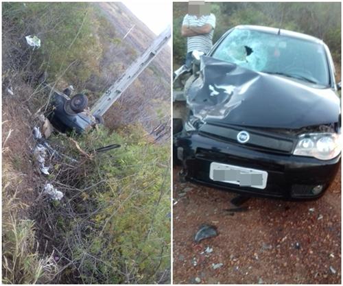 Acidente deixa uma vítima fatal na Ba-142 trecho entre Tanhaçu e Ituaçu