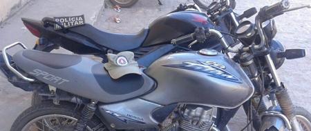 Em pleno feriado: Polícia de Barra da Estiva trabalha e recupera motos roubadas