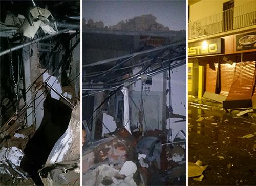 Bandidos explodem agência e trocam tiros com policiais militares em Irecê; veja o vídeo