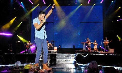 Fracasso de público e um prejuízo de R$ 140 mil marcam show de Luan Santana em Itabuna