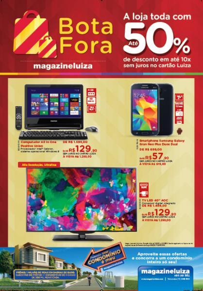 A oportunidade de comprar o seu produto com até a metade do preço no Magazine Luiza