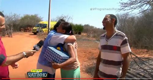 Maetinguense emociona o Brasil em Rede Nacional ao rever os irmão depois de 15 anos