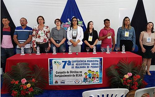 VII Conferência Municipal da Assistência Social foi realizada em Malhada de Pedras
