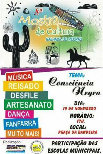 Acontecerá sábado (19) a 8ª Mostra de Cultura de Malhada de Pedras