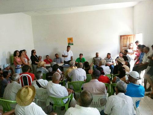 Em conferencia do PCdoB '' BETO DE PRETO NETO'' recebe apoio em sua pré candidatura para prefeito