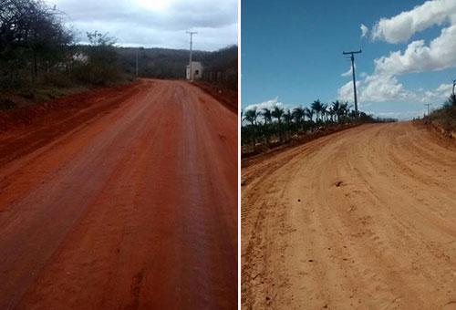 Prefeitura de Malhada de Pedras continua intensificando recuperação das estradas vicinais