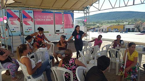 Mais de 140 atendimentos no primeiro dia de rastreamento do Câncer de Mama em Rio do Antônio