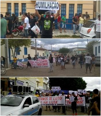 Trabalhadores demitidos da Itaguarana realizam protesto em Ituaçu