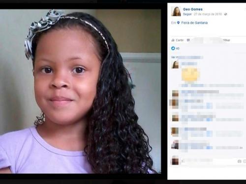'Esperando um milagre', diz mãe de menina sumida há 2 meses em Feira de Santana