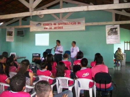 Dia Mundial da Água, Modera inicia palestras nas escolas