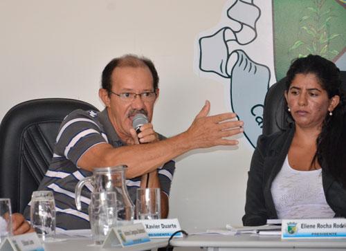 Representantes da prefeitura fizeram esclarecimentos na última Sessão da Câmara em Guajeru