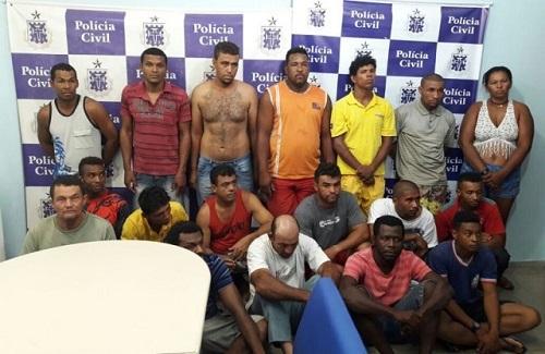 Operação prende 18 pessoas acusadas de roubo de gado no interior da BA