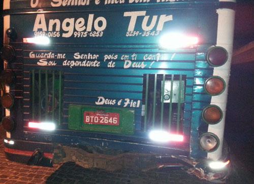 Filho de ex prefeito de Aracatu morre ao colidir veículo em ônibus que transportava romeiros