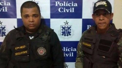 FALSOS PMS SÃO PRESOS PELA POLICIA: FINGIAM SER POLICIAIS PARA EXTORQUIR MORADORES.