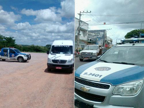Polícia volta a ter trabalho com ações de marginais na cidade