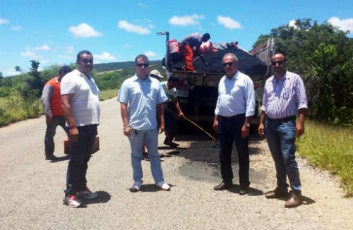 Parceria entre Aguiberto, Rally Construtora e Governo do Estado faz a recuperação do trecho Brumado/Sussuarana ser realizada