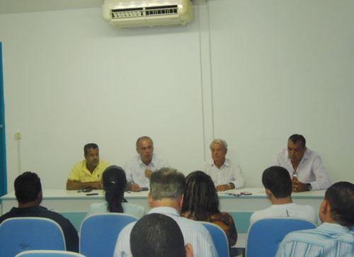 Em coletiva de imprensa prefeito fala sobre a inauguração do novo Estádio do Prazeres