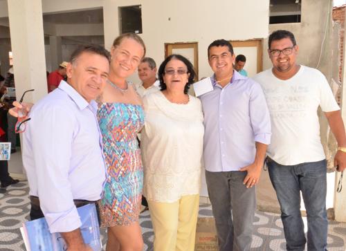 Prefeito Gil Rocha participou do encontro de agricultores com a ASFAB em Malhada de Pedras