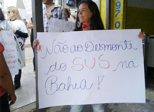 Servidores da extinta 19ª Dires fazem protestos e aderem a greve dos servidores da saúde