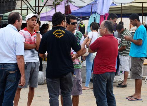 Feirão do Brás e Av. Paulista instalada no Planet Show é inspecionado pela fiscalização do CREA- BA